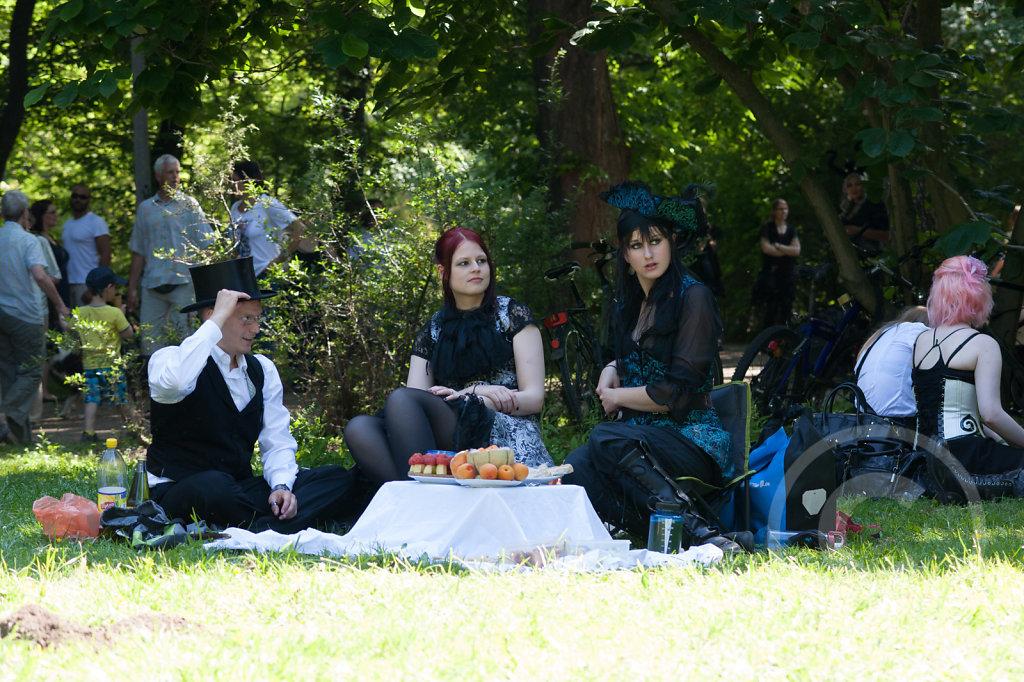 WGT 2014 - 06.06.2014 - Viktorianisches Picknick